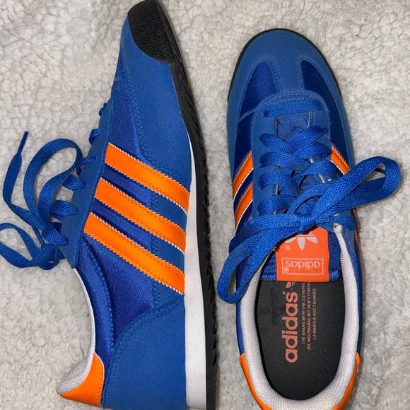 "NWOT Adidas ""Dragon"" blue and orange"